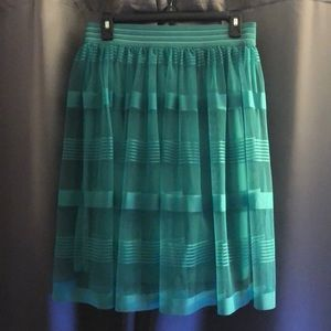 Turquoise Skirt w/ Lining